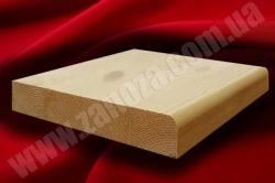 Подоконник деревянный СОСНА 40мм Ж/С (цельный)