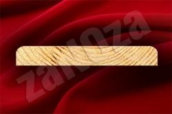 Доска для подшивки свесов крыш СОСНА 135x20мм ж/с (L=4,0м;4,5м)