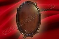 Медальон охотничий с резьбой ОЛЬХА (№01)