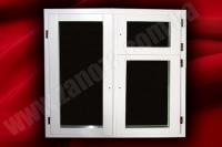 Окно деревянное с двухкамерным стеклопакетом СОСНА 1100х1350мм