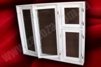 Окно двойное с раздельным переплетом СОСНА 1350х2070мм