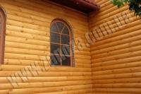 Обшивка домов блокхаусом или фальшбрусом (наружная) без утепления