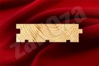 Доска пола СОСНА 105x33мм ж/с (L=4,0м;4,5м)к