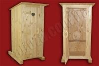 Туалет деревянный (№02)